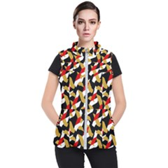 Colorful Abstract Pattern Women s Puffer Vest by dflcprints