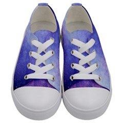 Galaxy Kids  Low Top Canvas Sneakers
