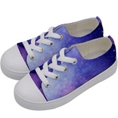 Galaxy Kids  Low Top Canvas Sneakers by snowwhitegirl