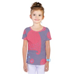 Lollipop Attacked By Hearts Kids  One Piece Tee