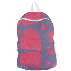 Lollipop Attacked By Hearts Foldable Lightweight Backpack