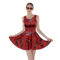Crows Skater Dress by greenthanet
