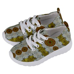 Spring In Mind And Flowers In Soul Be Happy Kids  Lightweight Sports Shoes by pepitasart