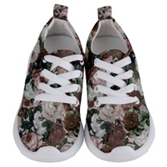 Rose Bushes Brown Kids  Lightweight Sports Shoes