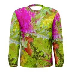 Colored Plants Photo Men s Long Sleeve Tee by dflcprints