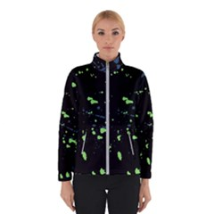 Dark Splatter Abstract Winterwear by dflcprints