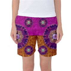 Viva Summer Time In Fauna Women s Basketball Shorts by pepitasart