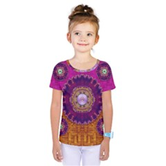 Viva Summer Time In Fauna Kids  One Piece Tee