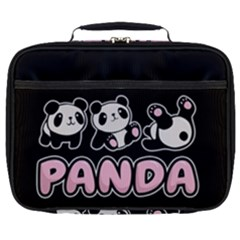 Panda  Full Print Lunch Bag by Valentinaart