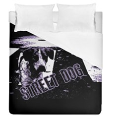 Street Dogs Duvet Cover (queen Size)