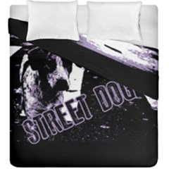 Street Dogs Duvet Cover Double Side (king Size) by Valentinaart