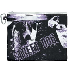 Street Dogs Canvas Cosmetic Bag (xxxl) by Valentinaart