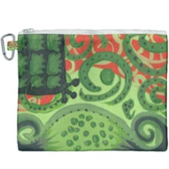 Turtle Canvas Cosmetic Bag (xxxl) by snowwhitegirl