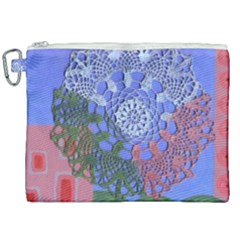 Pink Houses Canvas Cosmetic Bag (xxl) by snowwhitegirl