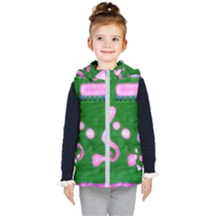Hearts For The Pink Cross Kid s Puffer Vest