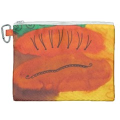 Guy With Weird Haircut Canvas Cosmetic Bag (xxl)