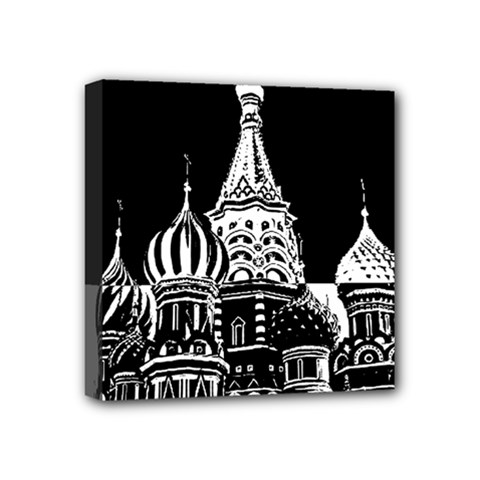 Moscow Mini Canvas 4  X 4  by Valentinaart