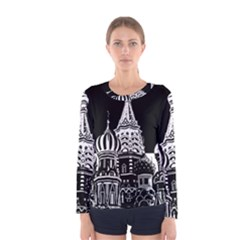 Moscow Women s Long Sleeve Tee