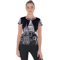 Moscow Short Sleeve Sports Top