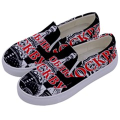 Moscow Kids  Canvas Slip Ons by Valentinaart