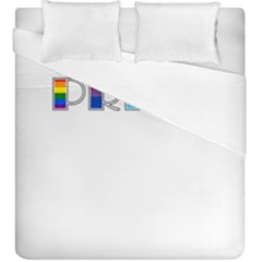 Pride Duvet Cover Double Side (king Size)