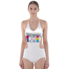 Pride Cut Out One Piece Swimsuit by Valentinaart
