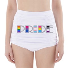 Pride High-waisted Bikini Bottoms by Valentinaart