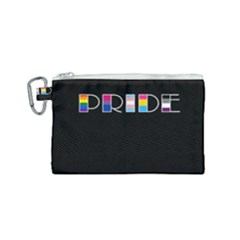 Pride Canvas Cosmetic Bag (small) by Valentinaart