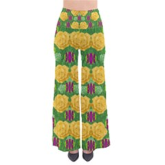 Roses Dancing On  Tulip Fields Forever Pants by pepitasart