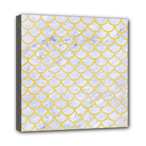 Scales1 White Marble & Yellow Watercolor (r) Multi Function Bag	 by trendistuff