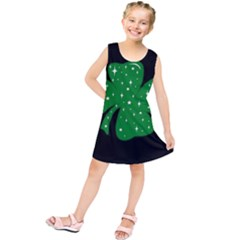 Sparkly Clover Kids  Tunic Dress
