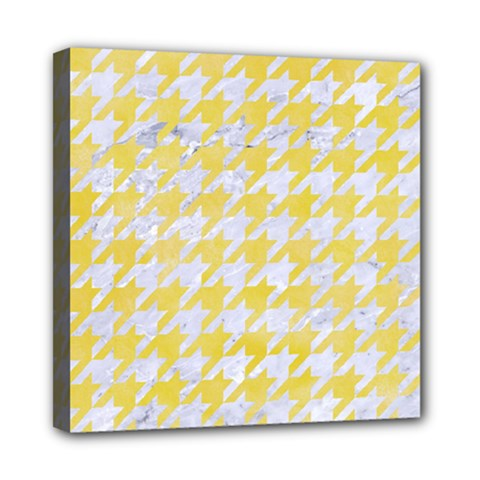 Houndstooth1 White Marble & Yellow Watercolor Multi Function Bag	 by trendistuff