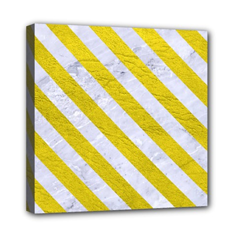 Stripes3 White Marble & Yellow Leather Multi Function Bag	 by trendistuff