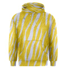Skin3 White Marble & Yellow Colored Pencil Men s Pullover Hoodie