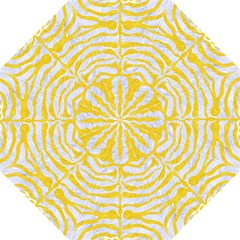 Skin2 White Marble & Yellow Colored Pencil (r) Folding Umbrellas by trendistuff
