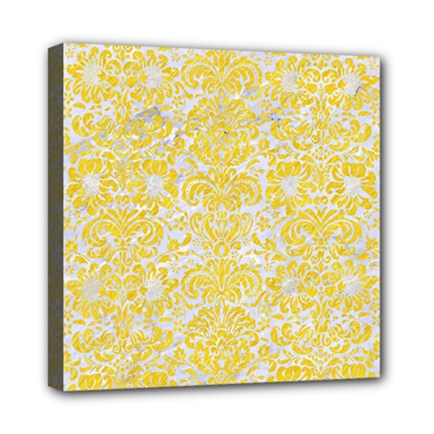 Damask2 White Marble & Yellow Colored Pencil (r) Multi Function Bag	 by trendistuff