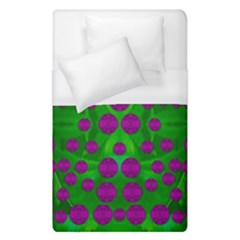 The Pixies Dance On Green In Peace Duvet Cover (single Size) by pepitasart