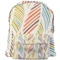 Decorative  Seamless Pattern Giant Full Print Backpack