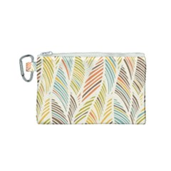 Decorative  Seamless Pattern Canvas Cosmetic Bag (small) by TastefulDesigns