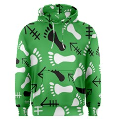 Green Men s Pullover Hoodie by HASHHAB