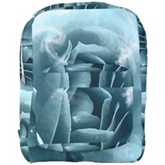 Beautiful Blue Roses With Water Drops Full Print Backpack by FantasyWorld7