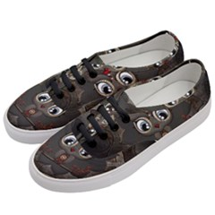 Wonderful Cute  Steampunk Owl Women s Classic Low Top Sneakers by FantasyWorld7