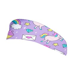 Cute Unicorn Pattern Stretchable Headband