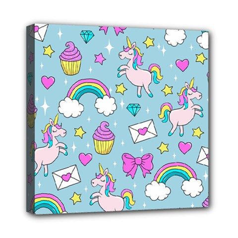 Cute Unicorn Pattern Multi Function Bag