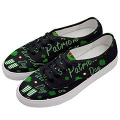 St Patricks Leprechaun Women s Classic Low Top Sneakers by Valentinaart