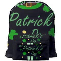 St Patricks Leprechaun Giant Full Print Backpack
