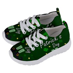 St Patricks Leprechaun Kids  Lightweight Sports Shoes by Valentinaart
