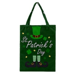 St Patricks Leprechaun Classic Tote Bag by Valentinaart