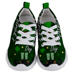 St Patricks Leprechaun Kids  Lightweight Sports Shoes