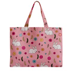 Easter Bunny  Zipper Mini Tote Bag by Valentinaart